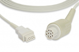 Datex-Ohmeda® OXY-C3 Compatible SpO2 Adapter Cable