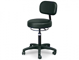 Hausmann Model 2156-707 Economy Air-Lift Stool with Backrest