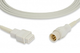 Datascope Compatible 0012-00-0516-02 SpO2 Adapter Cable