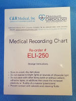 Mortara 9100-026-50 EKG Paper for Eli 250
