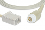 Mindray® BeneView T5, T8 Masimo® LNCS Compatible SpO2 Adapter Cable 0010-30-42738