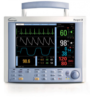 Datascope Passport II Patient monitor w/ CO2