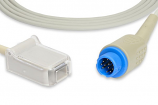 HP Philips® M1900B Compatible SpO2 Adapter Cable